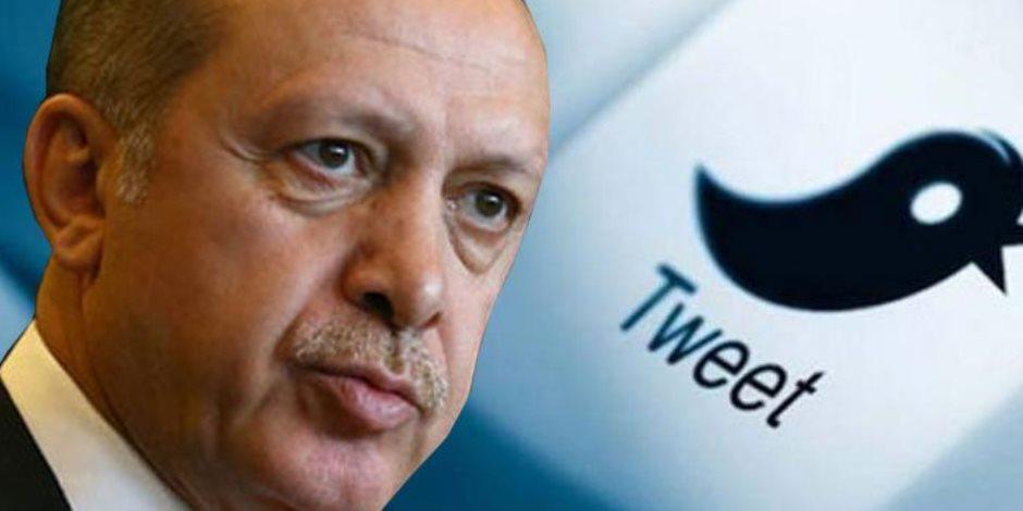 أردوغان «المتناقض» وصف تويتر بـ«الوباء» وامتدحه لارتفاع أعداد متابعيه