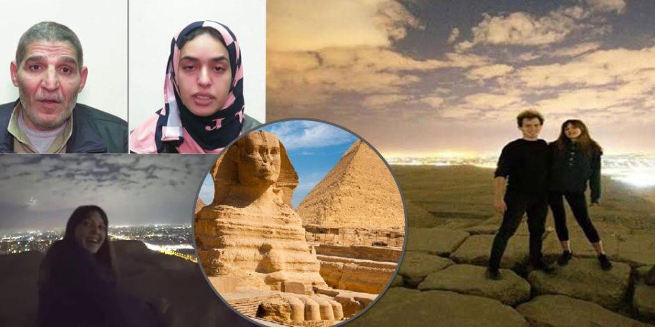 أسبوع أبو الهول... من تصوير مشاهد إباحية على سطح الهرم للقبض على المخططين