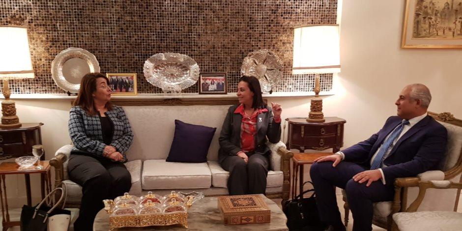 حضور مصري في مؤتمر التمكين الاقتصادي للمرأة العربية بعمان.. ماذا دار؟