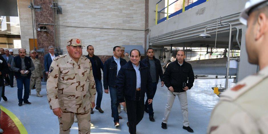 الرئيس السيسي يفتتح 7100 صوبة زراعية اليوم.. أبرز ما جاء في الصحف المصرية السبت