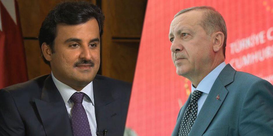 تميم يسير على خطى أردوغان.. شيطان الدوحة يخطط لغزو قطر بصالات القمار