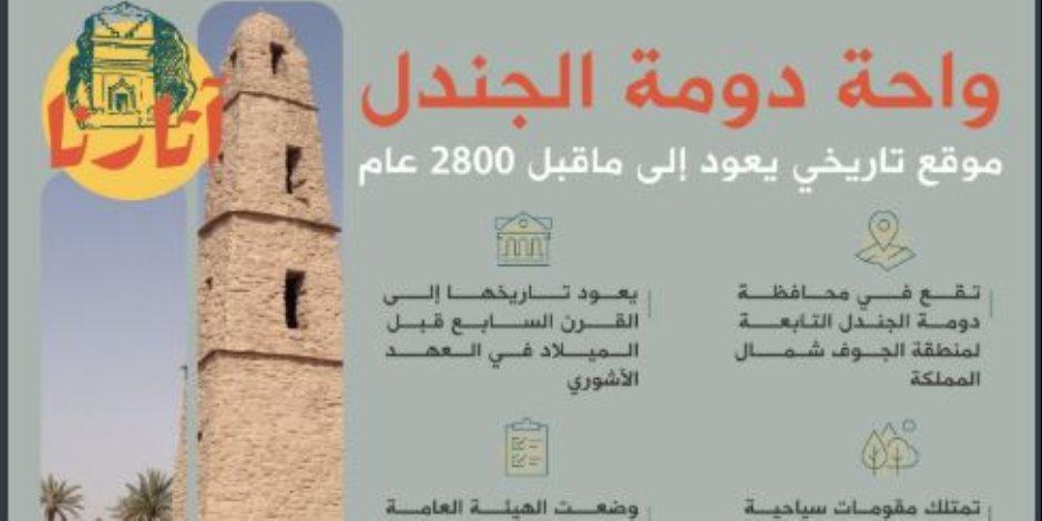 واحد من 9 مواقع مرشحة للتسجيل باليونسكو.. ماذا قالت الخارجية السعودية عن «دومة الجندل»؟