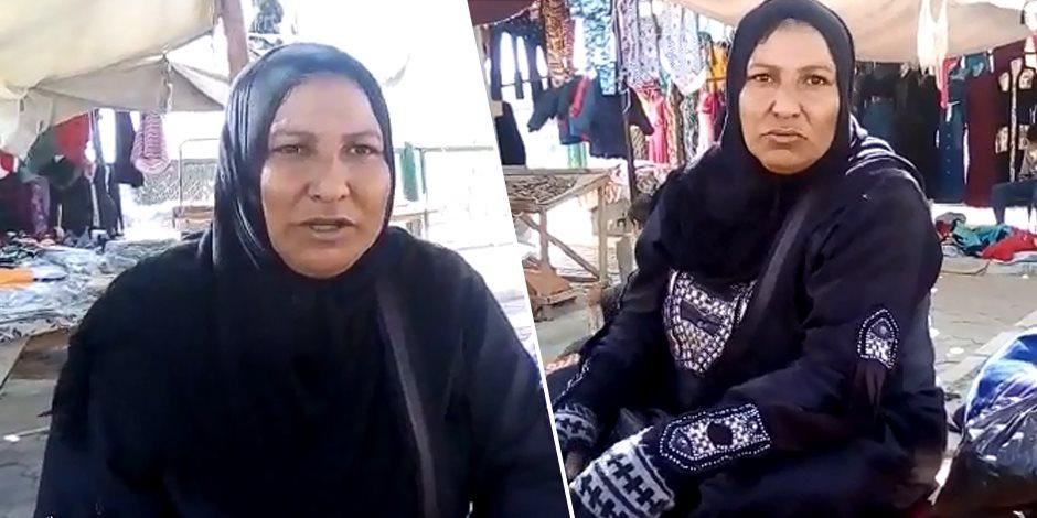 """""""أم شيماء"""" بائعة اليوسفي.. قصة كفاح 15 عاما من الرزق الحلال (صور)"""