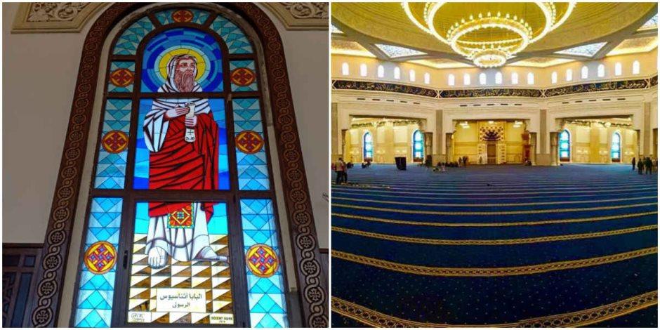 الله محبة.. قصة إمام مسجد أنقذ أقباط مدينة نصر من كارثة في العيد
