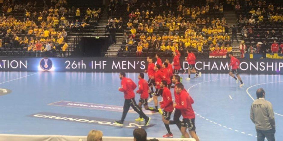 مساندة قوية من الجالية المصرية في الدنمارك لفراعنة اليد أمام السويد