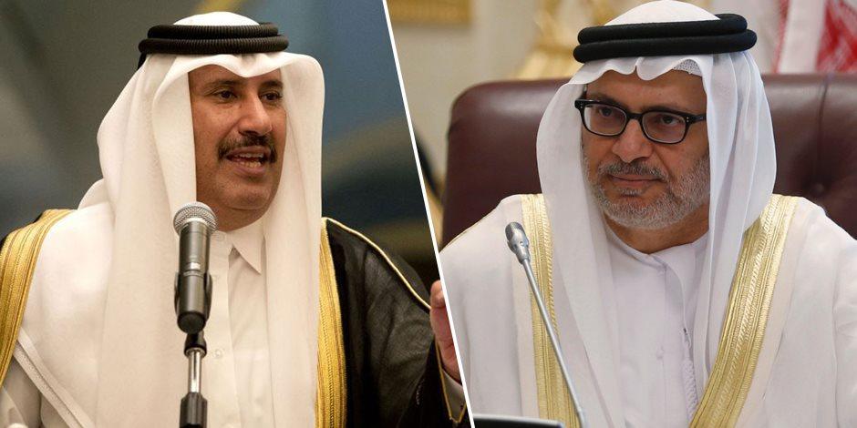 في أول رد خليجي.. «قرقاش» عن «بن جاسم»: رئيس وزراء قطر السابق مهندس انفصام تعودنا عليه