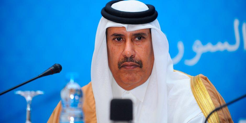 """نكشف الاسم الحركي لحمد بن جاسم.. تفاصيل فضيحة تورط وزير قطري حالي في رشاوي """"باركليز"""""""
