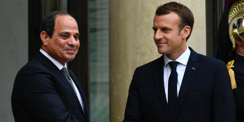 مصر في عقل ماكرون: مستنيرة ومفتاح حل أزمات المنطقة