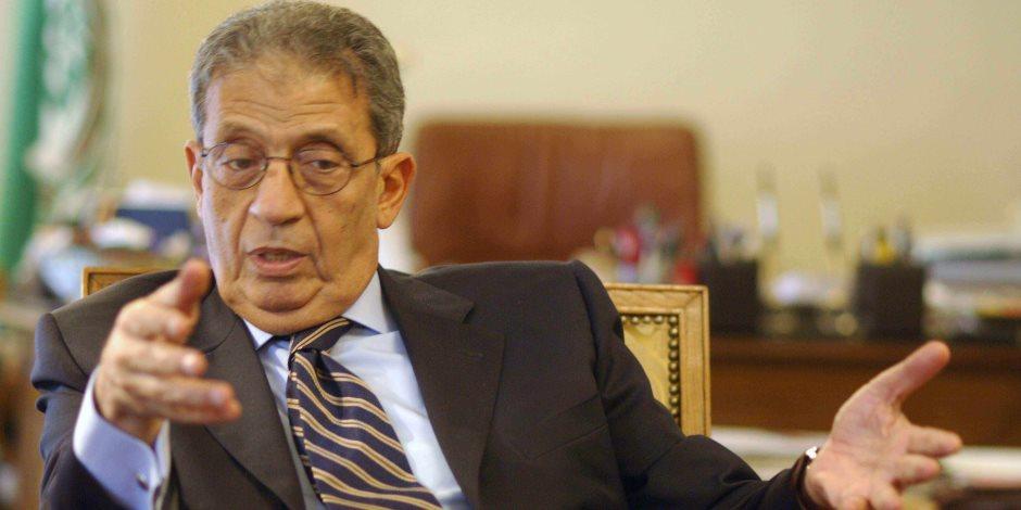 عمرو موسى: تعديل الدستور يأتي من خلال خمس أعضاء البرلمان أو بطلب من الرئيس