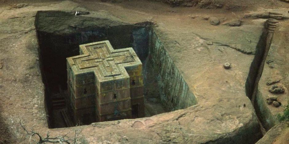 لاليبلا.. قصة كنيسة محفورة فى الصخور بإثيوبيا