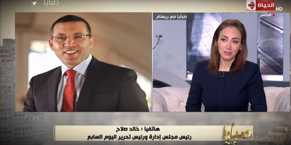 فيديو.. خالد صلاح:إصدارات إعلام المصريين تدعم مبادرة علاج 100 طفل مصاب بمرض القلب