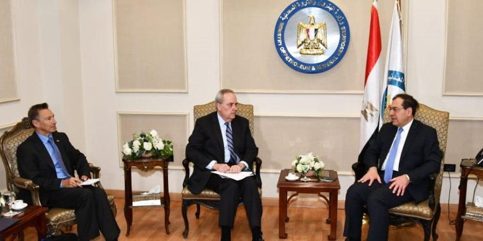 الوزير يتلقي القائم بأعمال سفير أمريكا.. «البترول» تبدأ تنفيذ خطة جذب المزيد من الاستثمارات