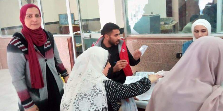 حملة «100 مليون صحة» تحقق نسبة 79.10% من المستهدف في شمال سيناء (صور)