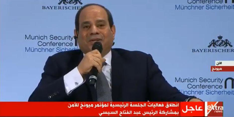 السيسى: النقاش بين الجانبين العربى والأوروبى خطوة مهمة فى تطوير العلاقات