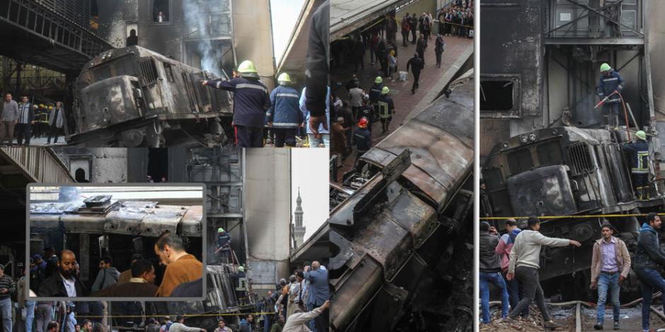 النيابة الإدارية تتدخل للتحقيق في حادث قطار محطة مصر
