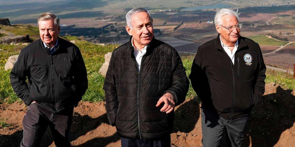 تقودها «ناطوري كارتا».. تظاهرات يهودية اعتراضا على الاعتراف بسيادة إسرائيل على الجولان