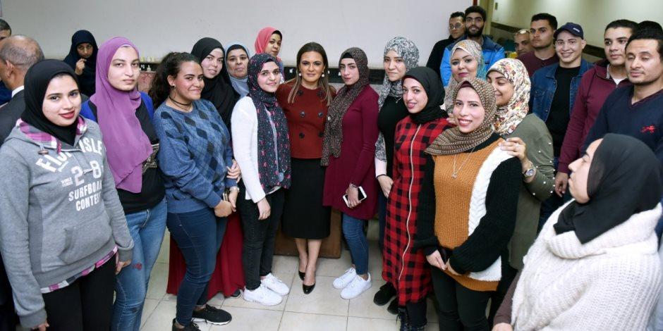 ماذا قالت وزيرة الاستثمار عن المنطقة الحرة بمدينة نصر؟