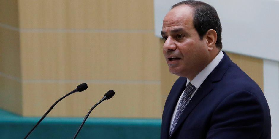 الرئيس السيسي يتحدث عن شائعات «صفقة القرن» المزعومة