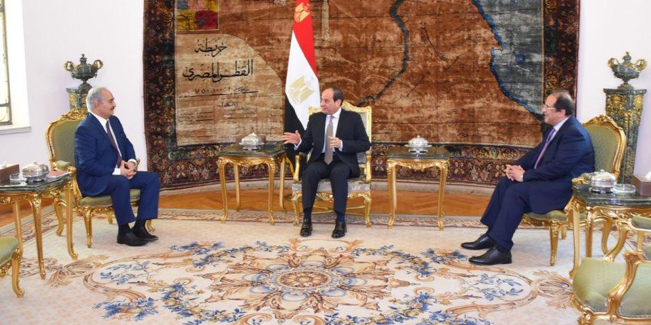 مصر تضمد جراح الليبين.. القاهرة تساند ليبيا لمواجهة مخططات الخارج