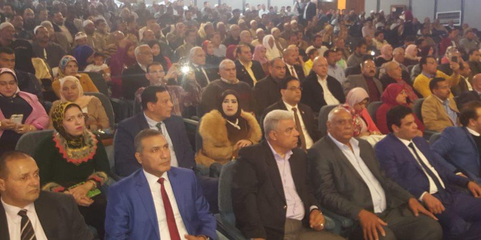 حزب الحرية ينظم مؤتمر للمشاركة في الاستفتاء بدمنهور.. والأهالي: نعم للتعديلات الدستورية