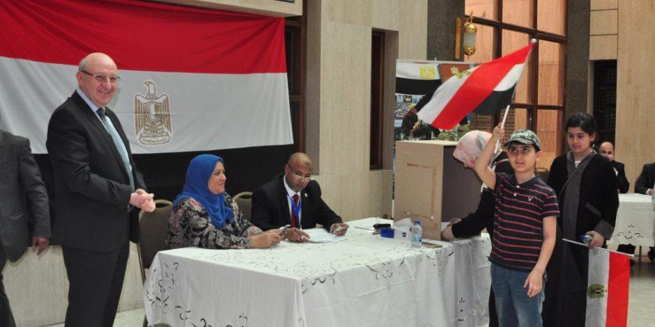 التصويت على التعديلات الدستورية.. ملحمة وطنية يقدمها المصريون حول العالم (صور)