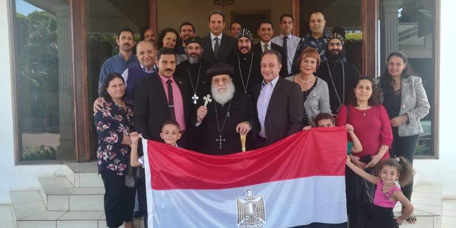 ممثلو الكنيسة المصرية في جوهانسبرج يدلون بأصواتهم في جنوب أفريقيا (صور)
