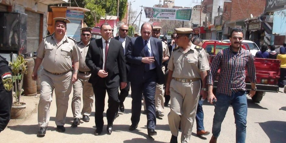 مدير أمن المنوفية يتابع عملية الاستفتاء على التعديلات الدستورية (صور)