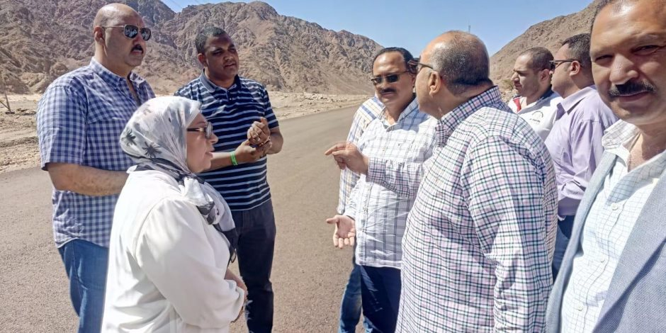 طفرة في طرق جنوب سيناء.. واستثمارات بأكثر من 200 مليون جنيه