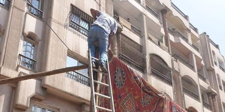 مع أول أيام شهر رمضان.. الجيزة تزيل 4 آلاف حالة إشغال بالطرق والشوارع الرئيسية (صور)