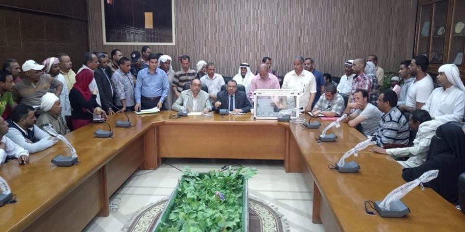 «شمال سيناء» تنهي إجراءات تخصيص 288 وحدة سكنية لمواطني الشيخ زويد ورفح بالعريش (صور)