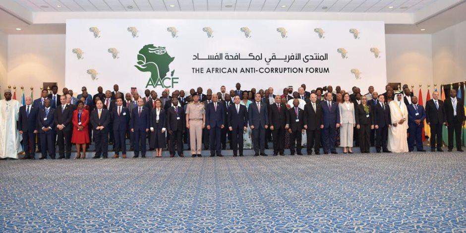 السيسى: مضاعفة المنح التدريبية لكوادر أجهزة إنفاذ القانون الأفريقية