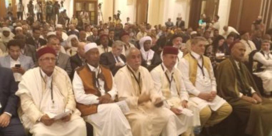 القوى الوطنية الليبية تؤكد في بيانها  الختامي: ندعم استقرار ليبيا ووحدة أراضيها