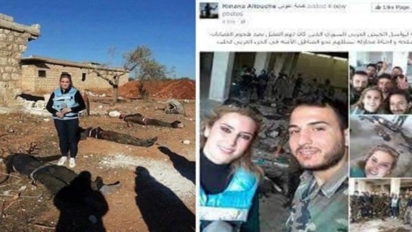 أول تعليق من السورية كنانة علوش على «سيلفى الجثث»