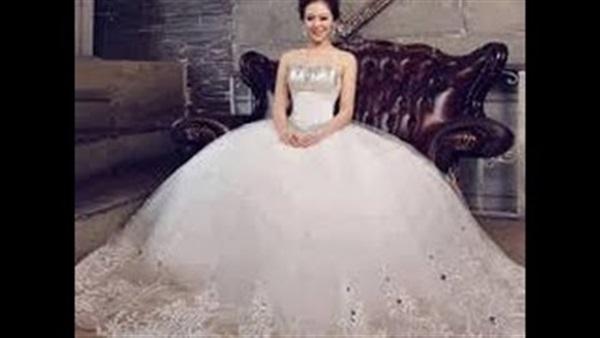 916a8148f بالفيديو.. أحدث موضة في فساتين الزفاف 2016 | صوت الأمة
