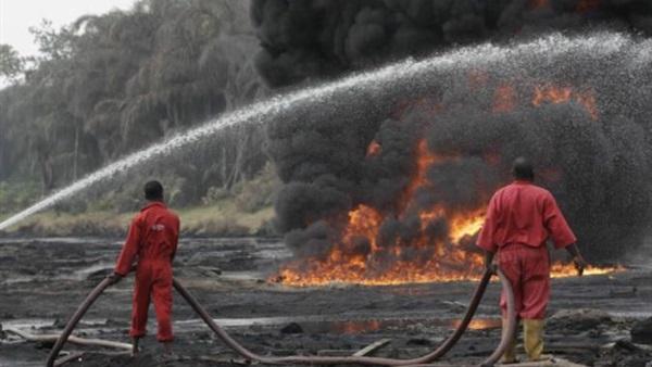 تفجير خط أنابيب لشركة إينى الإيطالية في نيجيريا
