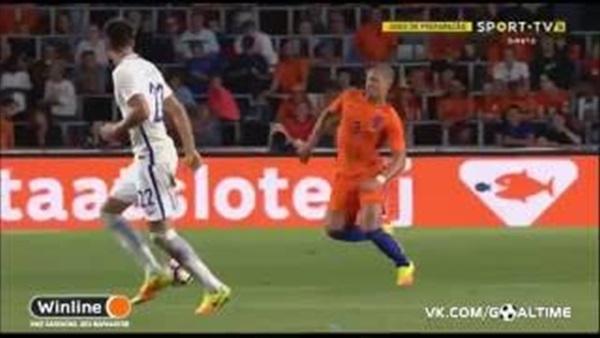 بالفيديو.. اليونان تهزم هولندا بثنائية ودياً
