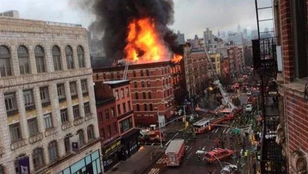 عمدة نيويورك: انفجار مانهاتن هجوم متعمٓد