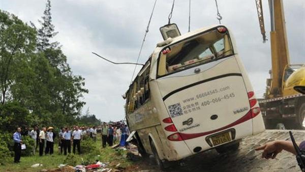 إصابة 30 طالبا جراء حادث تحطم حافلتهم بالعاصمة الباكستانية