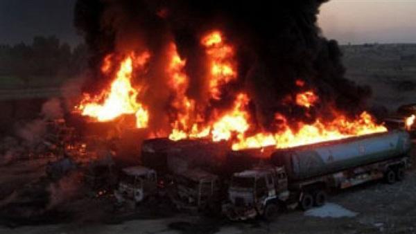 مقتل شخص في حريق اندلع بـ«صهريج نفط» في باكستان