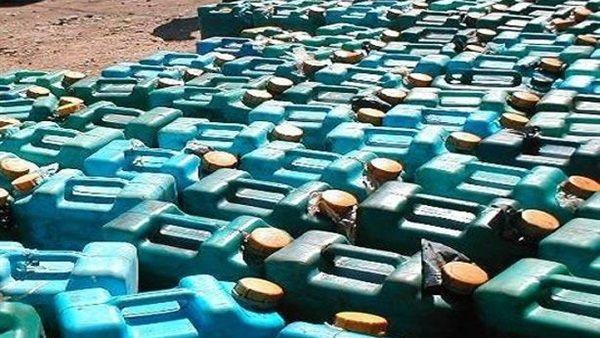 ضبط مليون ونصف لتر بنزين وسولار، و32 قضية مواد بترولية بمختلف المديريات