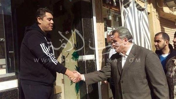مدير أمن شمال سيناء يتفقد شوارع العريش