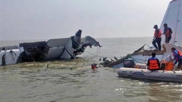 تسليم 10 رفات لضحايا ركاب الطائرة المنكوبة لذويهم