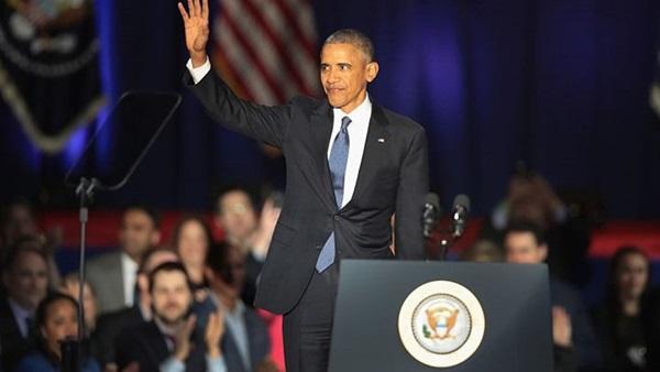 أقوى تصريحات «أوباما» خلال خطاب الوداع (تقرير بالفيديو)