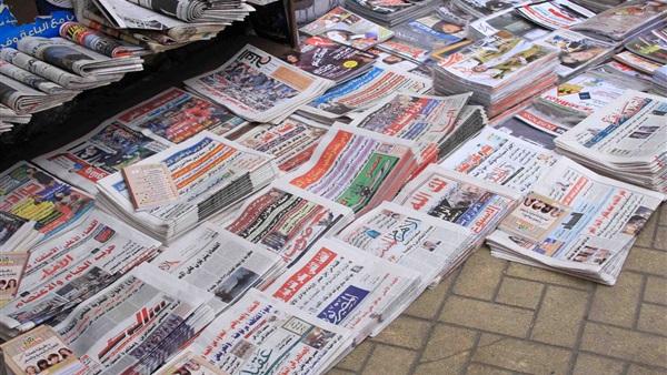 في دقيقة.. تعرف على أبرز عناوين الصحف المصرية اليوم (فيديو)