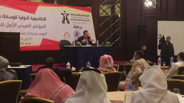 تفاصيل المؤتمر العربي الأول للمحاماة (صور)