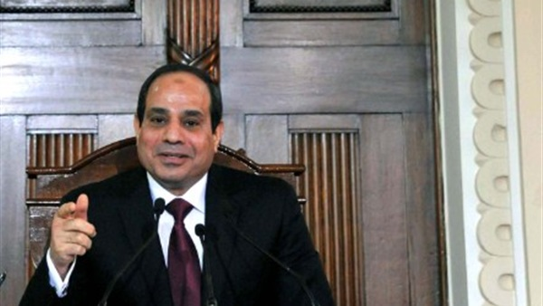 السيسي يلتقي بمقر اقامته بباريس مع الرئيس العراقي فؤاد معصوم