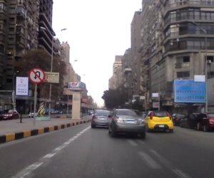 احذر هذا الطريق.. تعرف الحالة المرورية بالقاهرة (فيديو)