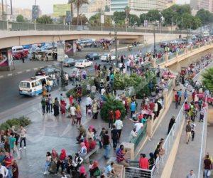 زحام شديد على كورنيش النيل في ثالث أيام العيد (فيديو)