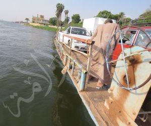 «المعدية النيلية».. وسيلة نقل تقودك للآخرة (صور وفيديو)