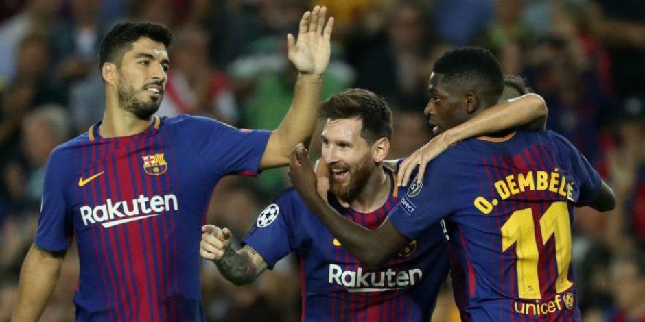 نتيجة مباراة برشلونة واولمبياكوس   صوت الأمة